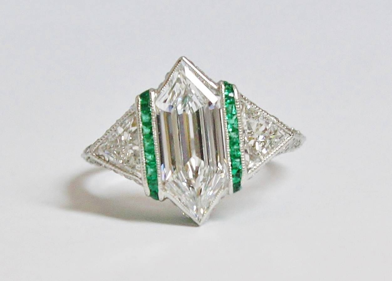Sell Art Deco Engagement Ring