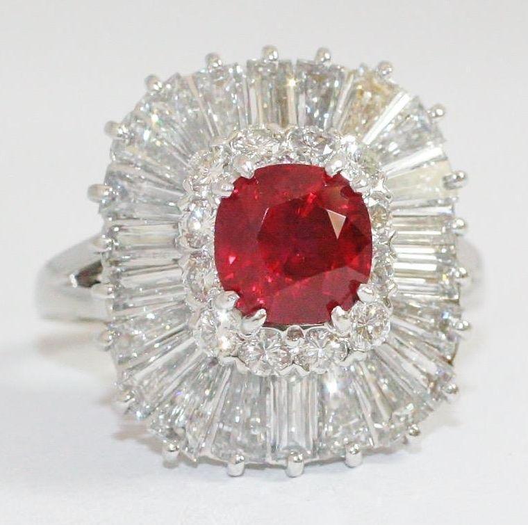 Sell Ruby Diamond Ring - Los Angeles, CA