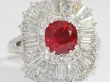 Sell Ruby Diamond Ring - Los Angeles, CA
