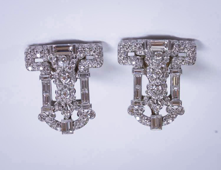Sell_Art_Deco_Diamond_Earrings